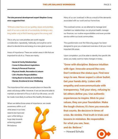 Balance Workbook Page 4