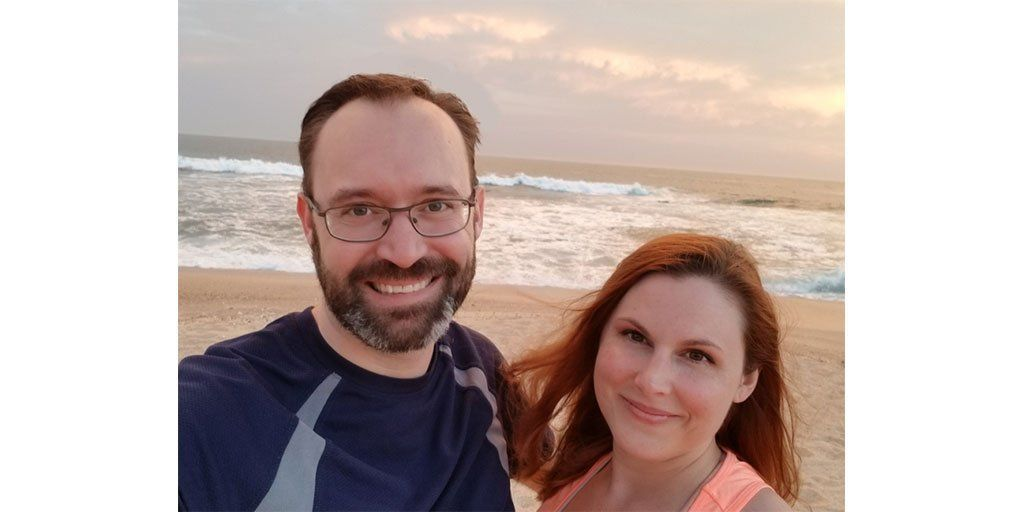Don & Pamela on the beach in Mexico - Are you making time for the most important things in life?