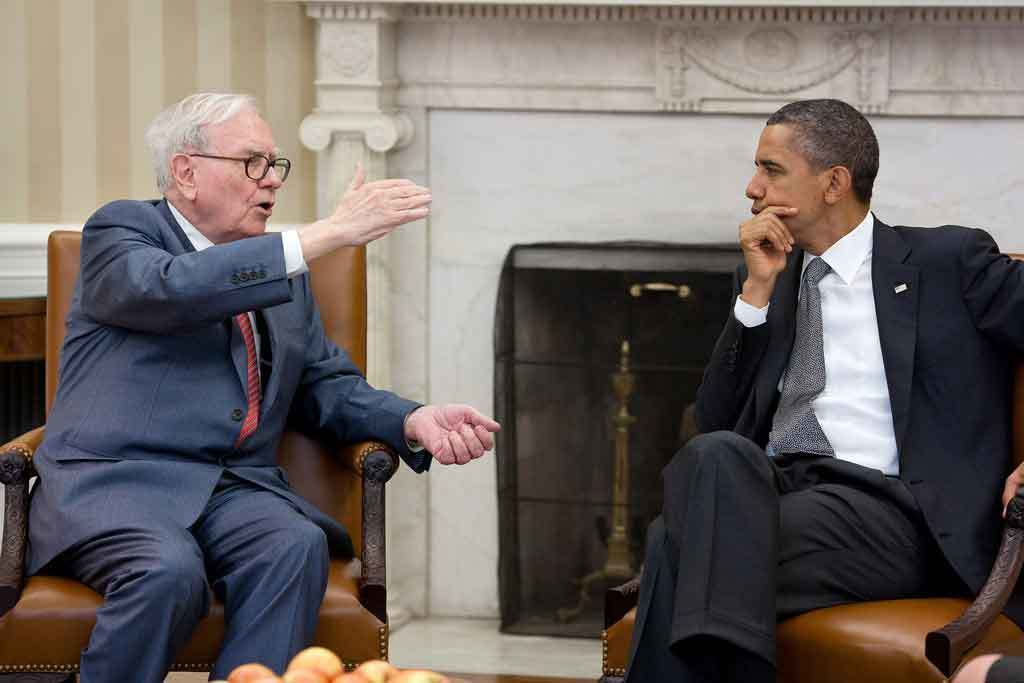 Warren Buffett with President Obama; Invest in Yourself