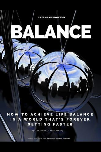 Balance Workbook: Create a Vision For Your Life