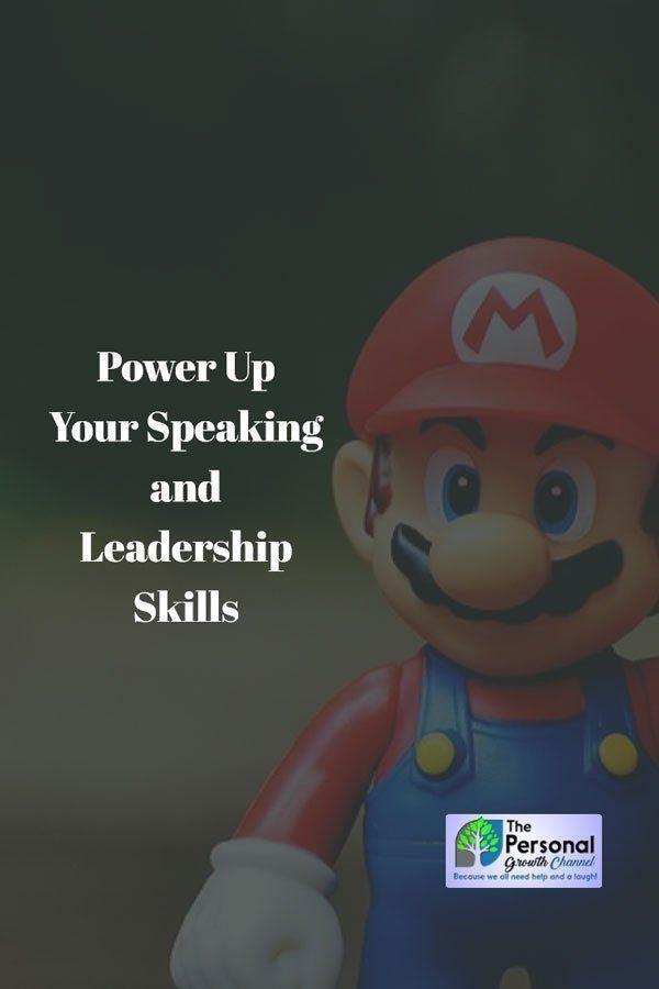 Personal Development: Power Up Your Speaking Skills - Mario Powerup