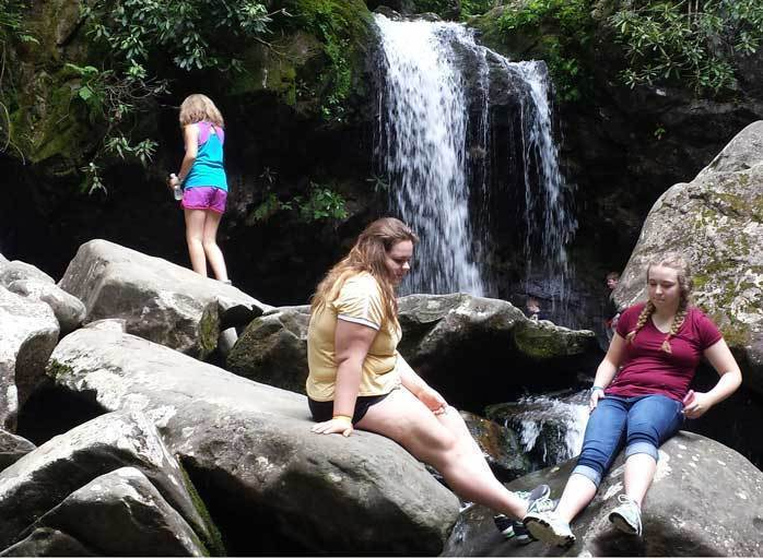 Grotto Falls Hike - Waterfall in Tennessee Photo