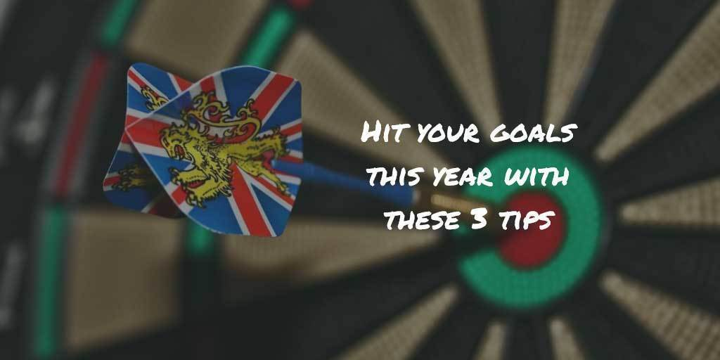 Hit your goals this year with these 3 tips