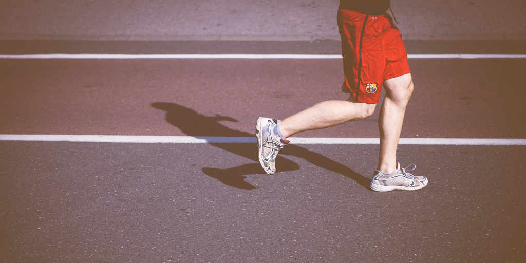 Workout challenge - running counts!