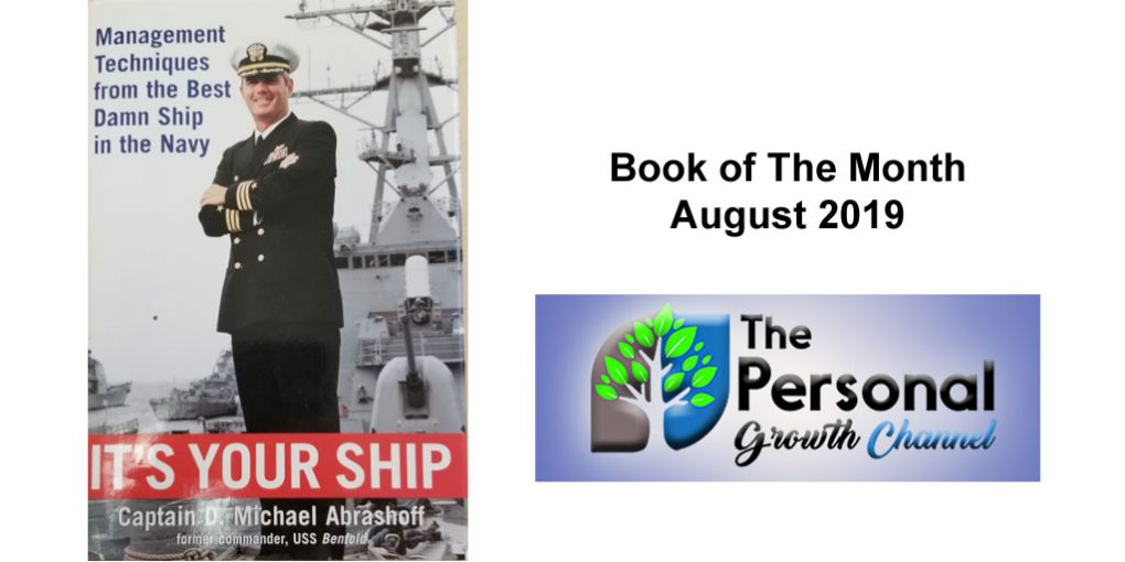 Personal Development Book of the Month - Its Your Ship