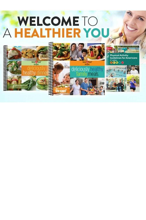 Cookbooks and Physical Activity Guidelines