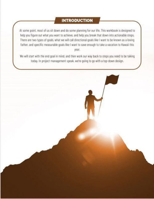 Introduction to the Life Goals Workbook