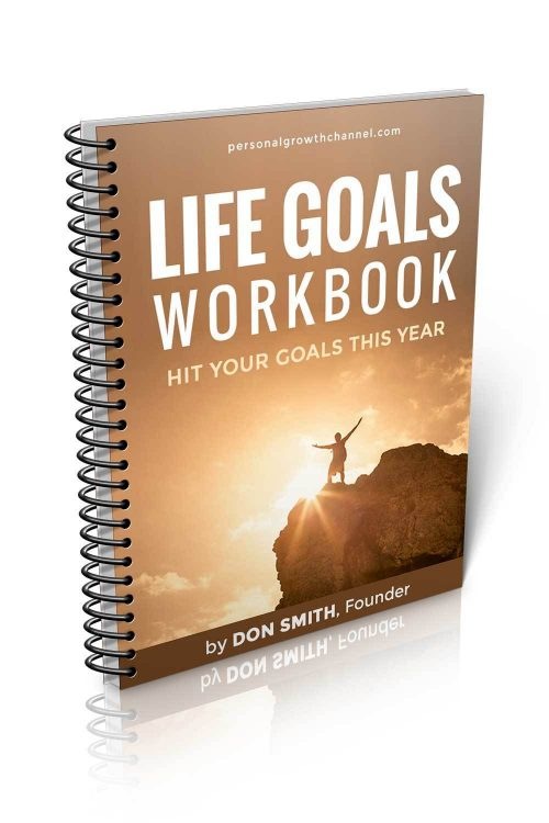 Life Goals Workbook - Hit Your Goals This Year