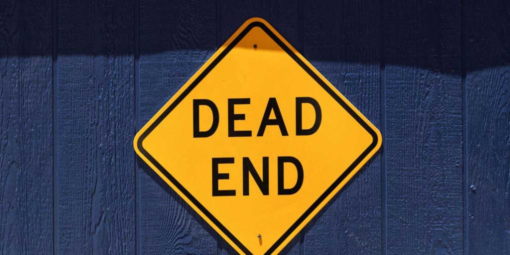 Dead End - The problem with personal development