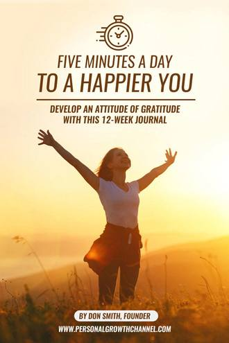 Five Minutes to a Happier You - Happiness Journal