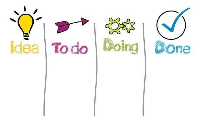 Clear action items - your business coach should assign clear action items