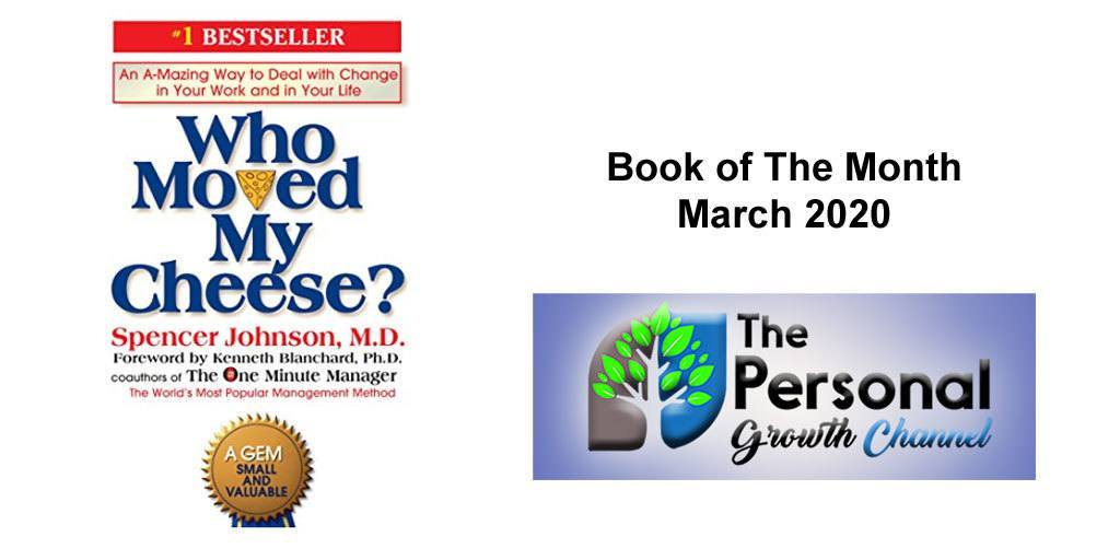 Who Moved My Cheese - Personal Development Book of the Month