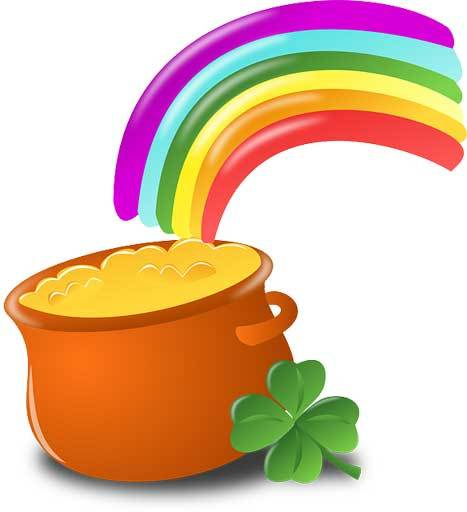 Pot of gold at end of rainbow - business is tough