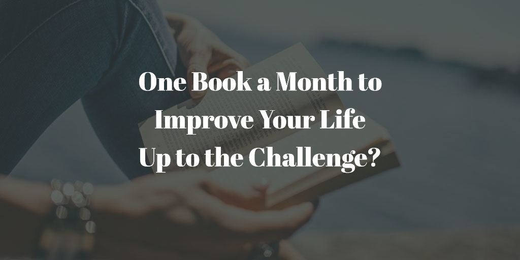 Personal Development Book Challenge - One book a month to improve your life, up to the challenge?